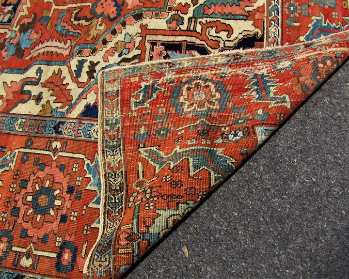 Antique Persian Heriz Serapi Rug R8189 This Rug Sold In Our Shop