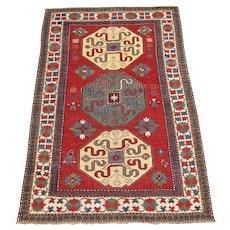 Antique Caucasian Kazak Rug  rr1471