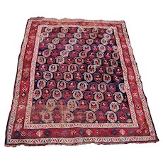 Antique Handmade Afshar Oriental Rug  rr1702