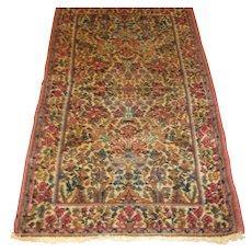 Good VINTAGE Karastan Kerman Persian design  rr2120 - Red Tag Sale Item