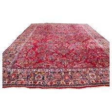 Antique Sarough Oriental Rug rr2465