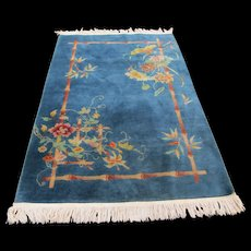 SUPERB Deco Chinese Rug   rr2789