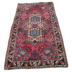 Antique Persian Hamedan Oriental Rug rr2793