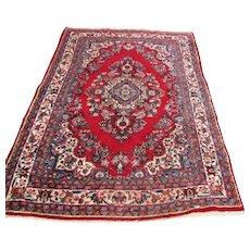 Vintage Persian Sarouk Oriental Rug  rr2911
