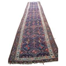 Antique Persian Kurdish Oriental Runner Rug  rr2941