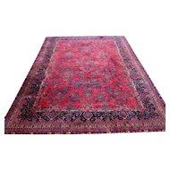 Superb Antique Persian Manchester Kashan Oriental Oversize Rug rr2945