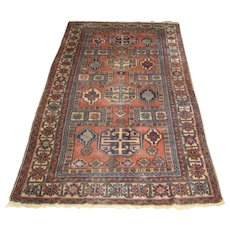 Antique Kurdish Oriental Rug  rr2947