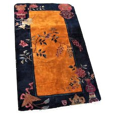 Fantastic Good Looking Art Deco Chinese Rug  rr3041