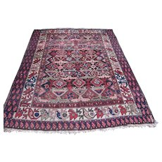 SUPERB Antique Persian Kurdish Oriental Rug   rr3084