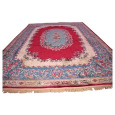 SUPERB Vintage Persian Kerman Oriental Rug   rr3088