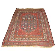 Antique Kurdish Oriental Rug  rr3103