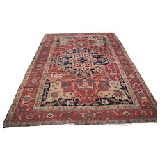 Superb Antique Persian Serapi Rug  rr3107