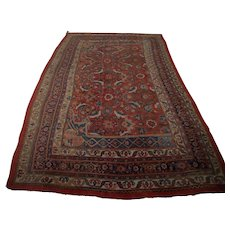Superb Antique Kurdish Bidjar Room Size Rug  rr3263