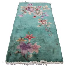 Antique Chinese Deco Oriental Rug   rr3284