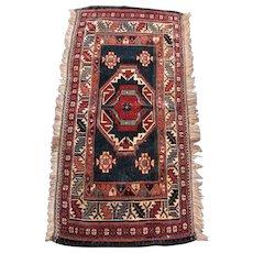 Antique Persian Turkoman Oriental Rug  rr3353