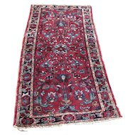 Antique Persian Hamadan Oriental Runner Rug  rr3389