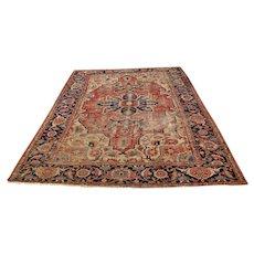 Antique Persian Serapi Oriental Rug  rr3398