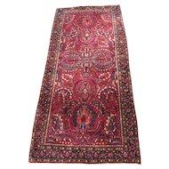 Superb Antique Persian Sarough Runner Rug  rr3401