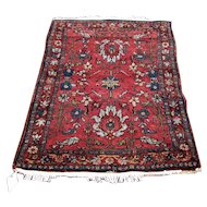 Antique Persian Lilihan Rug  rr3412