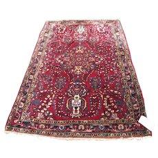 Superb Antique Maharajan Sarouk Rug  rr3496