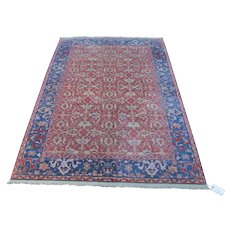 Vintage Williamsburg Karastan Rug rr3519  (Ushak Design)  Looks Like Made Yesterday!!!