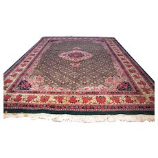 Vintage Room Size Indo Bidjar Handmade Rug rr3551