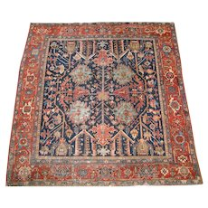 Antique Persian Heriz Rug   rr876