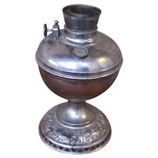 Antique Made in America Oil Lamp w111