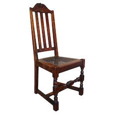 Antique Michigan Chair Company Hall Chair  w1277