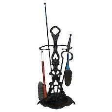Victorian Fire Tool Set  w1328