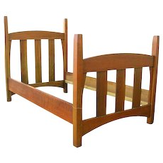 Antique Early Gustav Stickley Bed Frame  w1419