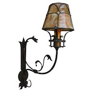 """Pair of Antique Wall Sconces """"Hagert""""  w1536"""