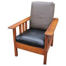 Antique Limbert Style Morris Chair w1605