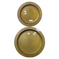 Antique Tiffany Studios Pair of Plates  w1656