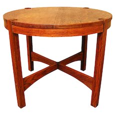 Antique Gustav Stickley Lamp Table w1749