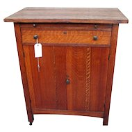Superb & Rare Antique Limbert Small Cabinet/Cellarette w1797