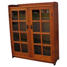 Antique Gustav Stickley Bookcase  w1819