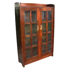 Superb and Early nice Gustav Stickley Bookcase | w1823   SALE   SALE