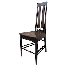 Antique Stickley Brothers Hall Chair w1829_2