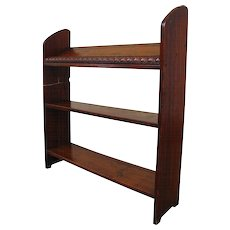 Antique Oak Book Stand w1892