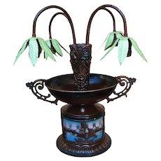 Antique Art Nouveau Table Lamp w1893