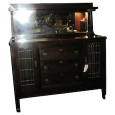 A great Antique Michigan Chair Company Mission A&C Sideboard w2055 stickley era