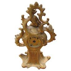 Rococo Style Table Clock  w2072