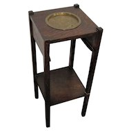 Antique Arts & Crafts Smoking Stand w2129
