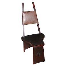 Antique Charles Limbert Hall Chair w2232