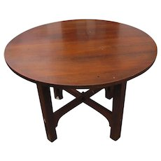 Superb Antique Gustav Stickley Table w2284