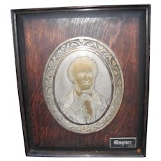 Antique Wagner Plaque w2288