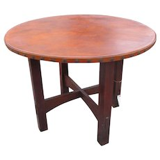 Superb Antique Gustav Stickley Rare Model Table w2354