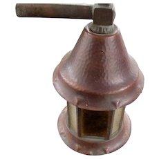 Antique Arts & Crafts Lantern  w2446