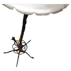Antique Arts & Crafts Iron Floor Lamp  w2453